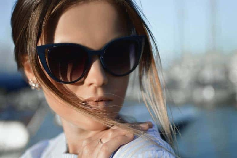 photography of woman focus wearing sunglasses