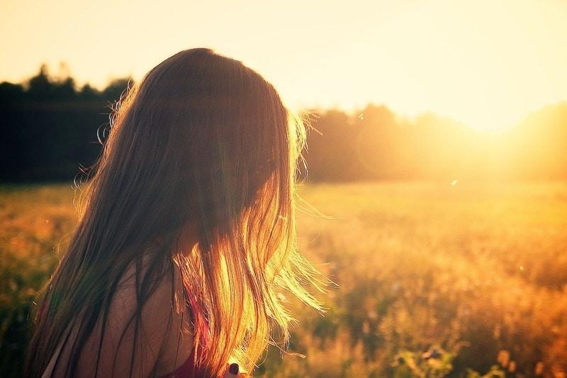 woman on summerfield