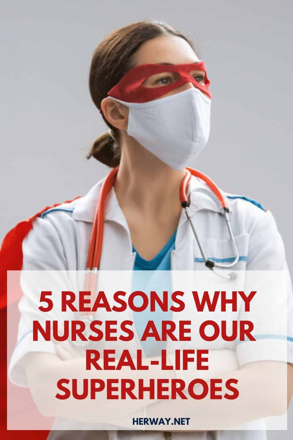 5 Reasons Why Nurses Are Our Real-Life Superheroes pinterest