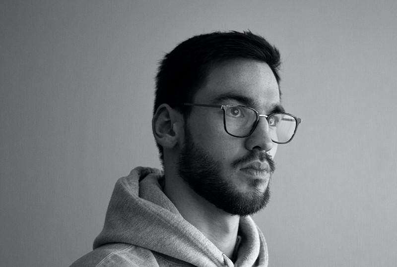 man with beard wearing eyeglasses