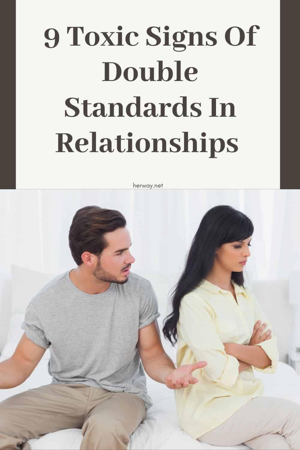 9 Toxic Signs Of Double Standards In Relationships