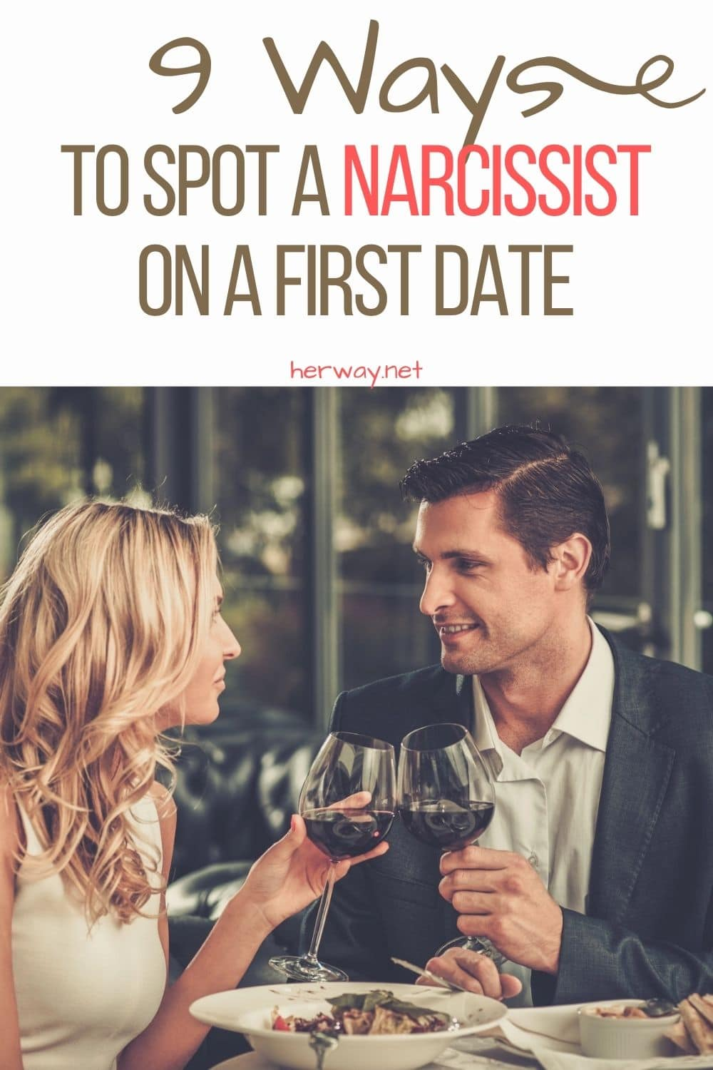9 Ways To Spot A Narcissist On A First Date