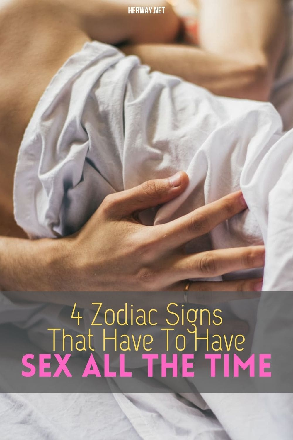 4 Zodiac Signs That Have To Have Sex All The Time