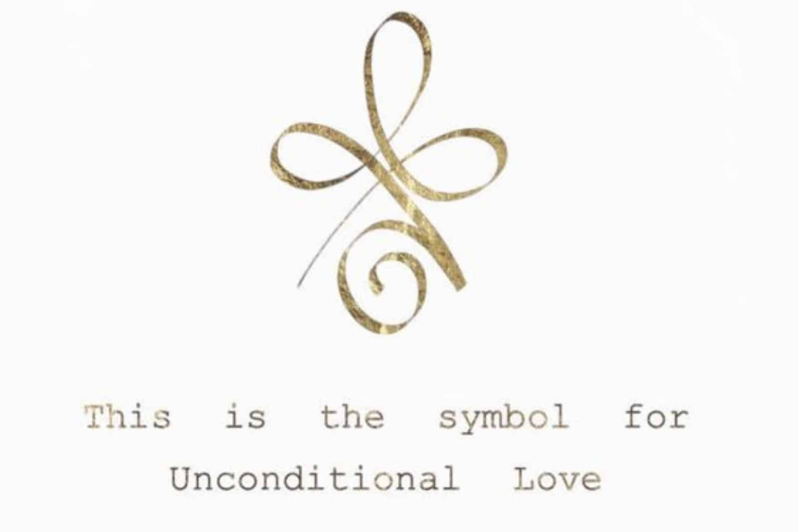 a symbol of unconditional love